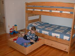 Wooden Bunk Bed Plans Free by Free Plans For These Two Huge Storage Drawers Sturdy Enough For