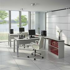Louis Philippe Open Bookcase Oxford White Desk Grey U0026 Black Mesh Office Chair Oxford Black