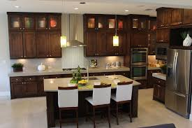 pictures of black stained kitchen cabinets modern kitchen cabinets with stain by burrows cabinets