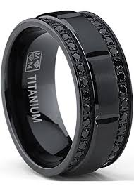 black wedding bands for black wedding bands
