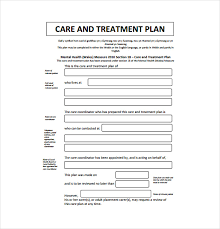 Counselor Treatment Manual Pdf 12 Treatment Plan Templates Free Sle Exle Format