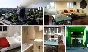 London Two Bedroom Flat London Fire Inside Grenfell Tower Where Two Bed Flats Rent For