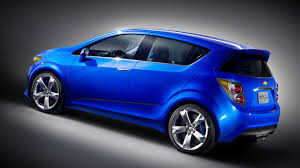 New Chevrolet Sonic Rs Blue Wallpaper My New Car Cars
