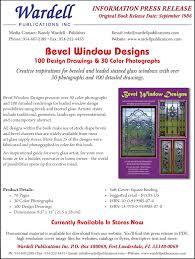 informational press releases wardell publications art glass