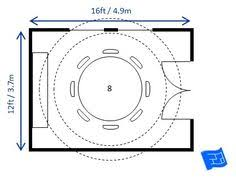 Minimum Dining Table Dimensions Required For  People I Intend To - Oval dining table for 8 dimensions
