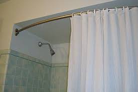 Bathroom Shower Rod How To Install A Curved Shower Rod