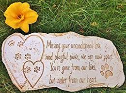 dog grave markers pet memorial marker for dog or cat for