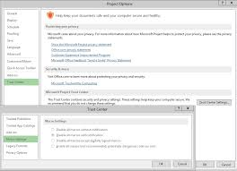 microsoft project u2013 how to control macro settings using registry