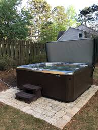 backyard planning hotspring spas