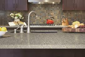 granite countertop wood kitchen storage cabinets backsplash