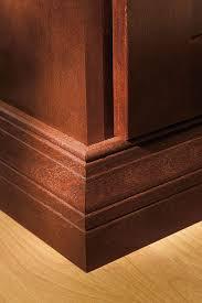baseboards kitchen cabinets baseboard moulding kemper cabinetry