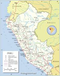 Peru South America Map by Administrative Map Of Peru Nations Online Project