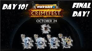 Payday 2 Meme - payday 2 crimefest 2015 day 10 final day meme masks youtube