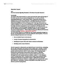 Dissertation Proposal   University Business and Administrative