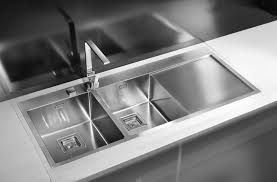 Kitchen Sink Deep by Flush Flat Mount Kitchen Sink Deep Double Bowls 10mm Radius