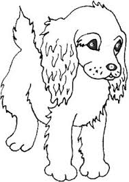 cute puppy dog coloring coloring book pictures