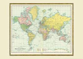 Old World Maps by Old Vintage Maps Buy Online From Maps International