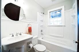 los angeles toto promenade pedestal sink bathroom craftsman with