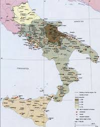 Urbino Italy Map by Formation Of Italy