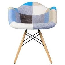 Patchwork Armchair For Sale Modern Geometric Accent Chairs Allmodern