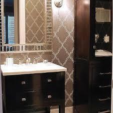 Espresso Bathroom Storage Adorable Grey Bathroom Linen Cabinet Design Ideas In Espresso