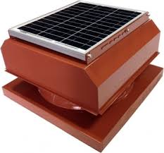 attic breeze gen2 30 watt solar attic fan curb mount