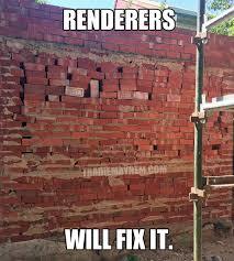 Brick Wall Meme - michael brickwork meme tradie mayhem