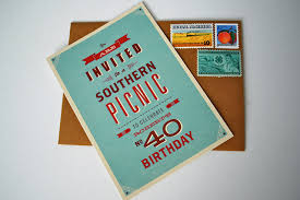 40th birthday party invitations the sweetest occasion