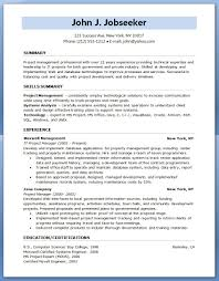 Security Project Manager Resume Experience Experienced Project Manager Resume