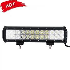 led emergency light bars cheap auxbeam 12 inch 72w cree flood spot dual row led light bar off