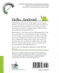 buy hello android 4e book online at low prices in india hello