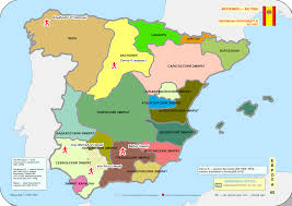 A Map Of Spain by File Historical Map Of Spain Ad 1000 1100 1066 Svg Wikimedia