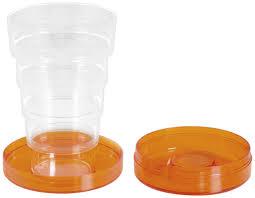 bicchieri richiudibili cosmoplast bicchiere tascabile multicolore it casa e cucina