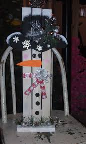 snowmen made out of scrap wood on pinterest google search