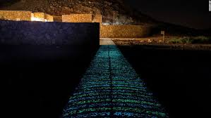 Glow In The Dark Lights Glow In The Dark Cement Could Light Up Cities Cnn Style