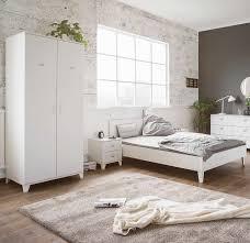 Schlafzimmer Bett Sandeiche 3 Tlg Schlafzimmer In Weiß Matt Spind Stil Kleiderschrank Mit