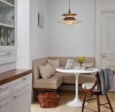 White Table L Dining Room Small Dining Room Design With White Pedestal
