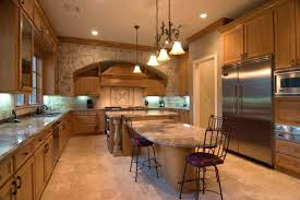 New Home Design Center Tips by Kitchen Remarkable Stone Center Wall Patterned With Brick Accent