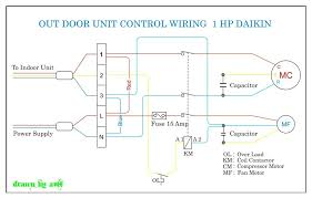 daikin outdoor wiring refrigeration u0026 air conditioning