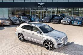 bentley suv new bentley bentayga first edition first examples delivered