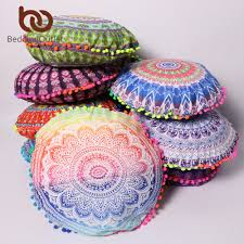 Pink Round Cushion Compare Prices On Round Pillow Cover Online Shopping Buy Low