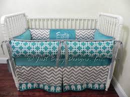 Custom Crib Bedding For Boys Custom Crib Bedding Set Eastin Boy Baby Bedding Elephant