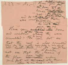 leaf shaped writing paper an integrated catalog of walt whitman s literary manuscripts the content two scraps of paper pasted together to form one leaf the relation of this manuscript to whitman s published work is unclear