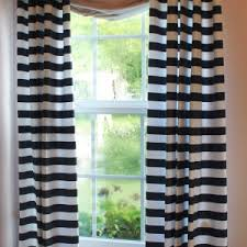 ideas u0026 tips navy blue and white curtains with seven white