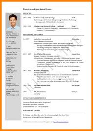 new resume format free current resume templates 2017 6 new cv format 2017 free