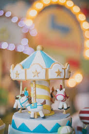 1st birthday girl themes take a carousel ride with this birthday party theme