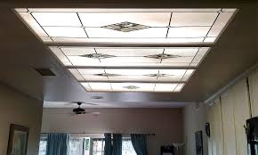 Kitchen Fluorescent Ceiling Light Covers White Pearl Set Kitchen Installation Fluorescent Light Covers