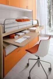 Bunk Bed With Pull Out Bed Trundle Bed With Desk Hollywood Thing