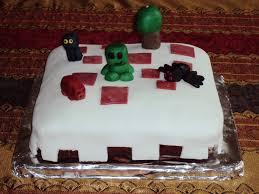 minecraft cake by dragononawagon on deviantart