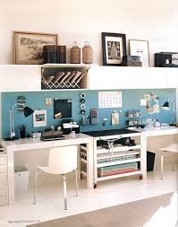 Home Office Double Desk Best Double Desk Office Ideas On Pinterest Home Study Rooms